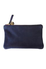 Claire Vivier Wallet Clutch in Navy
