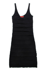 Flavia Dress in Black
