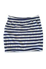 Meredith Skirt in Navy and White Stripe