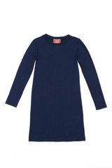 Zoe Dress in Navy